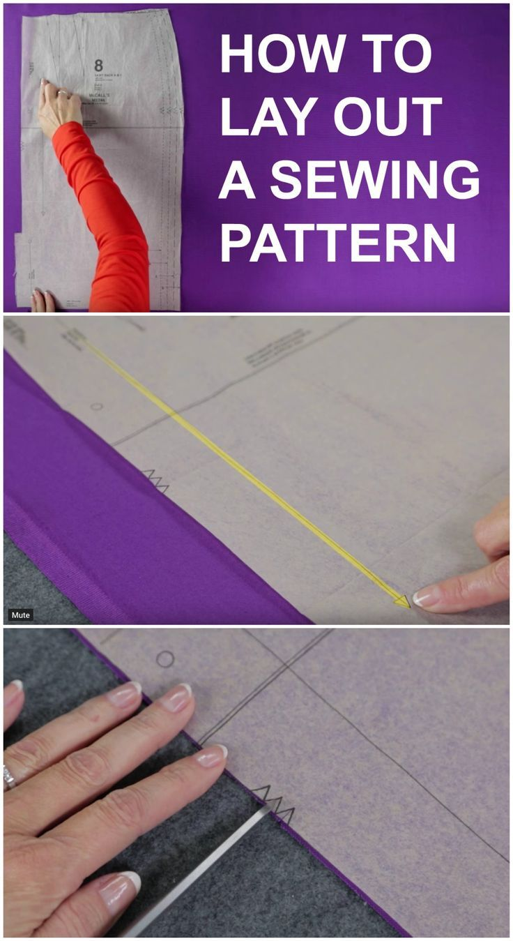 Video tutorial. How to use a sewing pattern and all about pattern ...