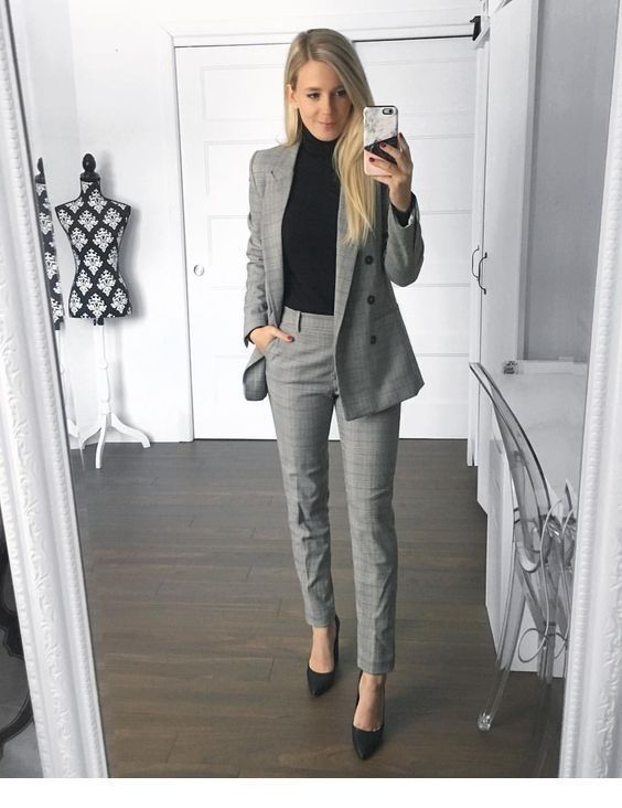 Photo of 40 Trendy work clothes and office outfits for business women Fine work clothes for a …