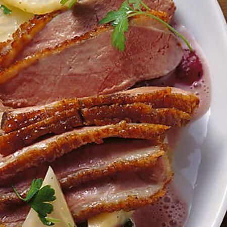 Photo of The 80 degree duck breast