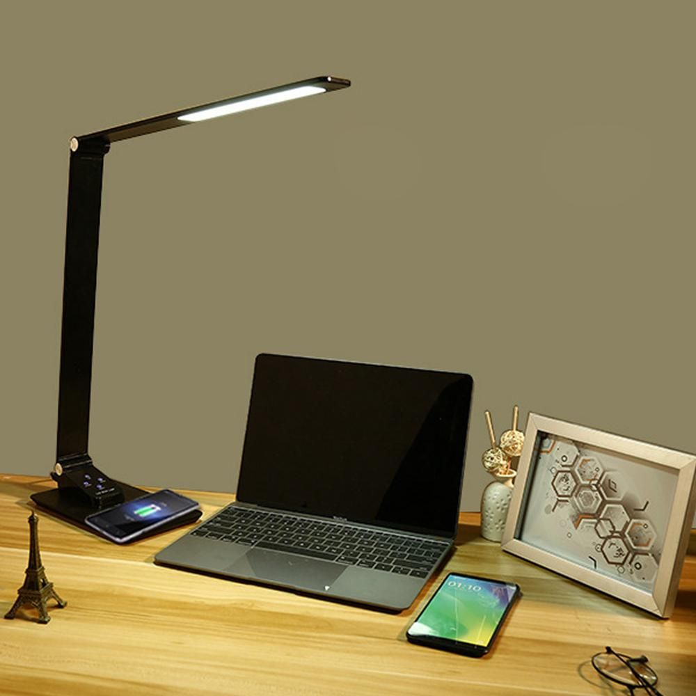 Led Desk Lamp Touch Control Table Reading Light Office Study Eye