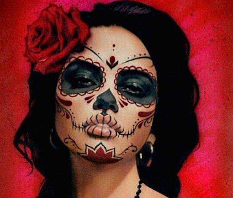 15 Stunning Día De Los Muertos Makeup Ideas Dia de, Makeup ideas - barbie halloween costume ideas