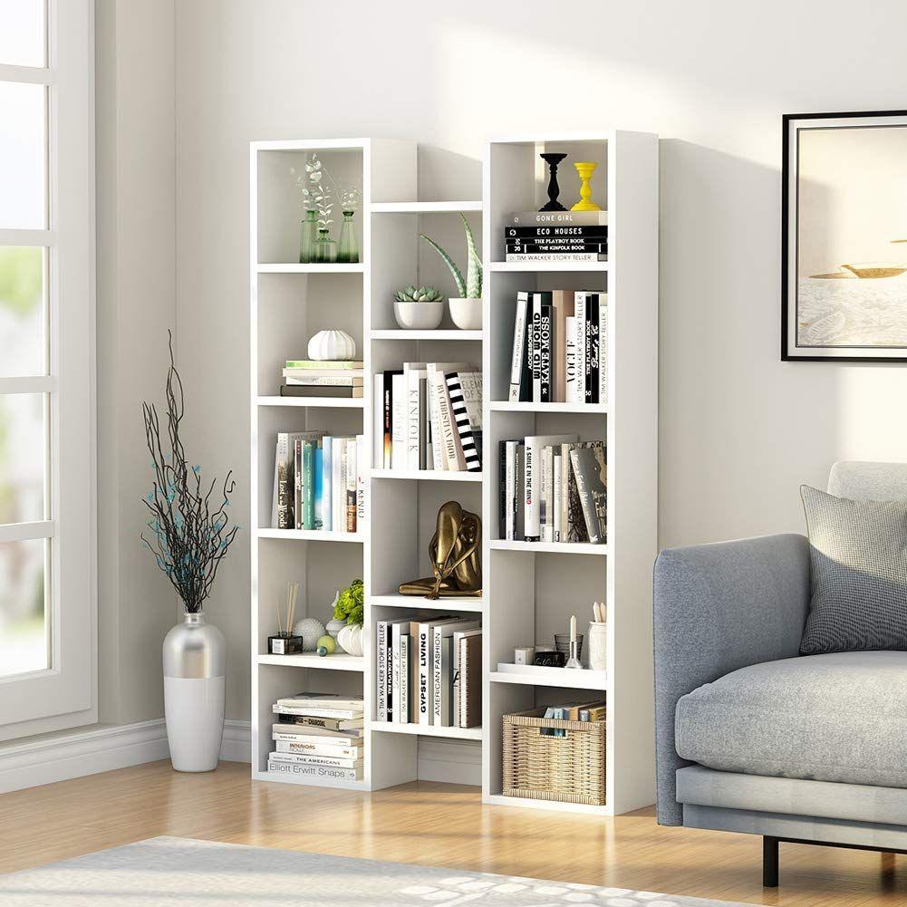 Amazonsmile Little Tree 5 Shelf Modern Bookcase Organizer