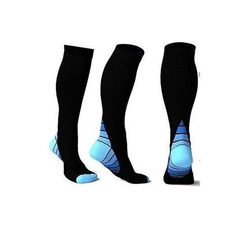 ff0381a45d Men's Professional Compression Socks Breathable Travel long Activities Fit  for Nurses Shin Splints Flight Travel