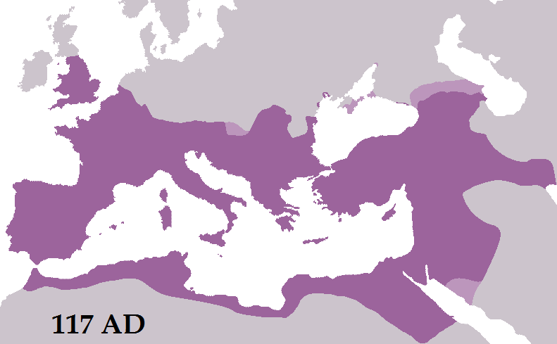 Roman Expansion Began In The Days Of The Republic But The Empire - Map of rome under trajan