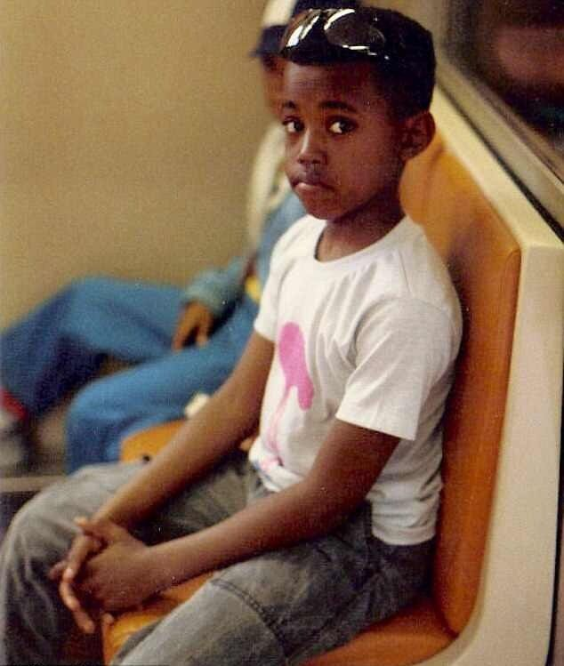You Laugh To Keep From Crying Kanye West Kim And Kanye Childhood Photos