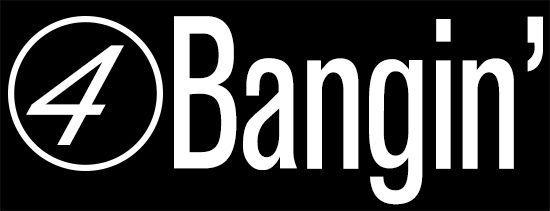 BLACK Four Bangin JDM Illest Vinyl Decal Car Window Sticker Two 2
