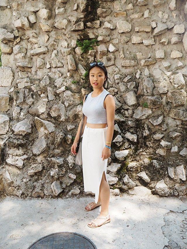 Outfit of the Day: Sommergrüße aus dem Urlaub! Bei 40 Grad ist es manchmal gar nicht so einfach, das richtige Outfit zu finden. Wie wäre es mit diesem hier?