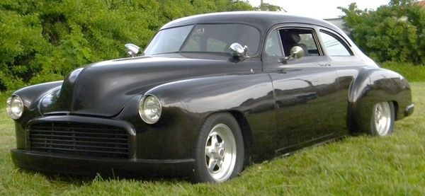 Classic 49 chevy chop. anything-on-wheels