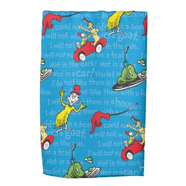 Green Eggs And Ham Storybook Pattern Kitchen