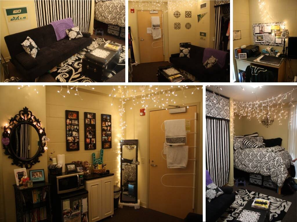 Beautifully Decorated Dorm Room At Castor Hall. #USF Part 76