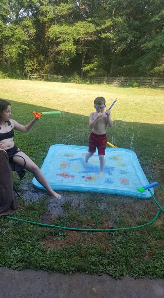 Sprinkler Pad Splash Play Mat