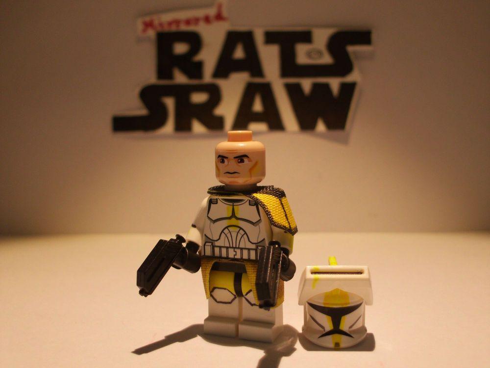 Lego Star Wars minifigures - Clone Custom Commander Bly   Star wars ...