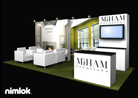 Nimlok Has 40 Years Of Experience Designing Custom And Portable Modular Exhibits For MiHAM Creatives We Created A Trade Show Booth