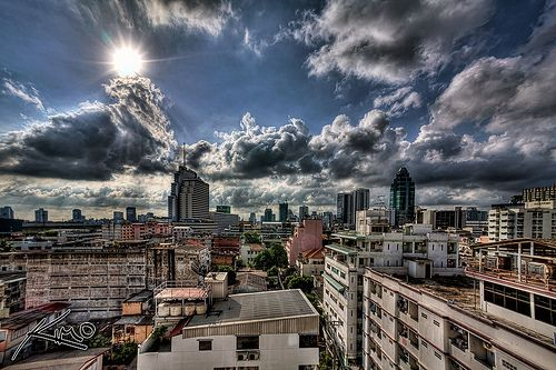 Very first HDR Cityscape of Bangkok - http://thailand-mega.com/very-first-hdr-cityscape-of-bangkok/