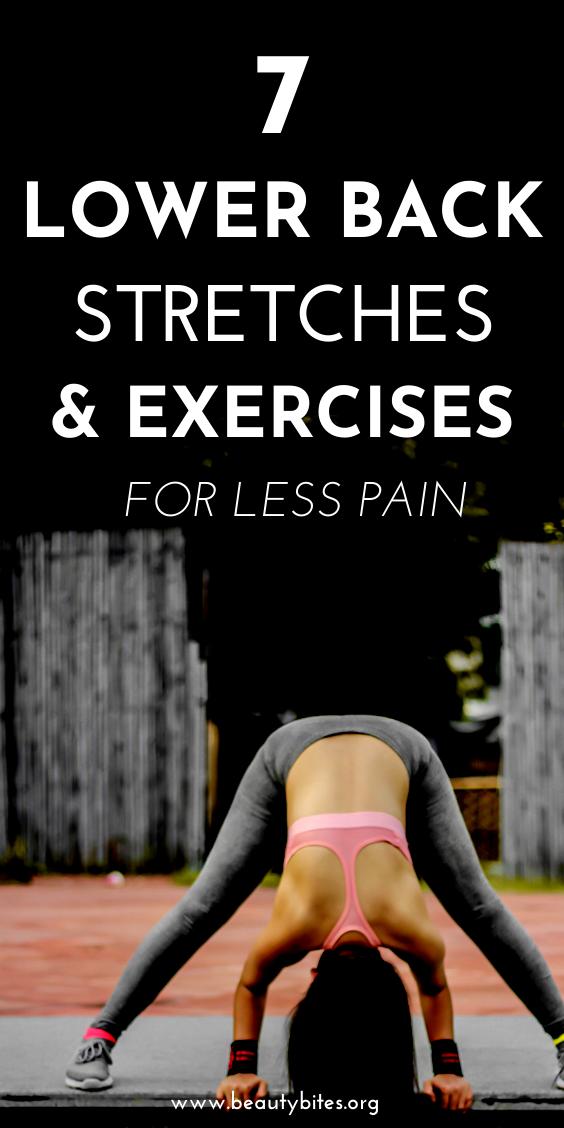 7 esercizi per esercizi per alleviare il mal di schiena