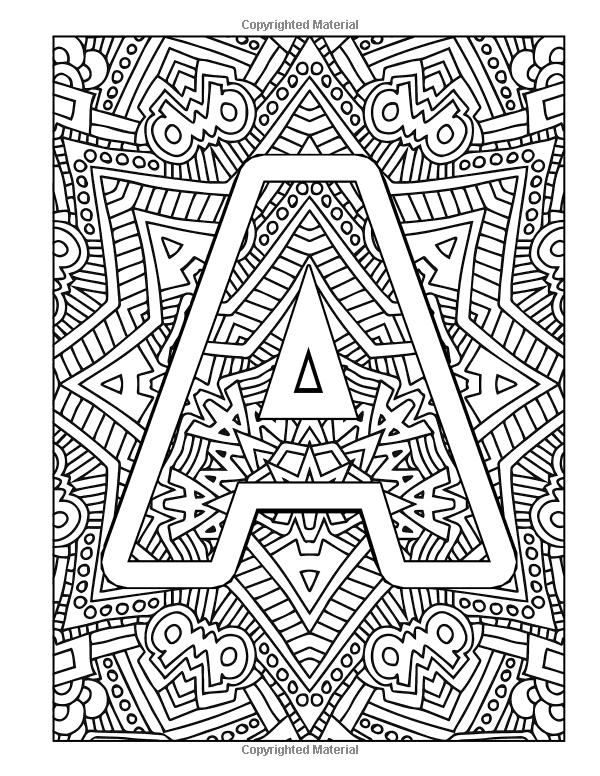 Amazon Com Color The Alphabet An A Z Coloring Book For Adults 9781530986842 Coloring Books Coloring Pages Alphabet Coloring Pages
