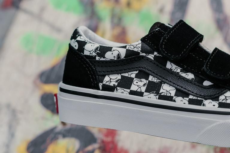 Product Name: Vans x Peanuts Old Skool V 'Checkerboard' Kids