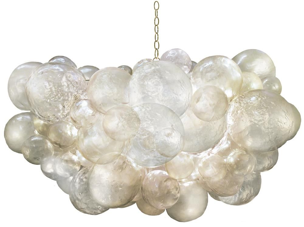Oly Studio Muriel Clear Resin Bubbled Chandelier In 2020 Bubble Chandelier Modern Chandelier Oly Studio