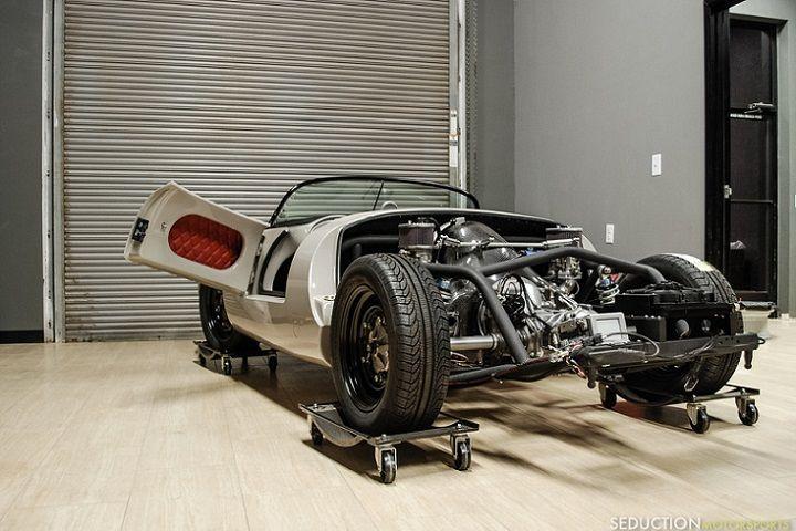 dream garage the porsche 550 spyder