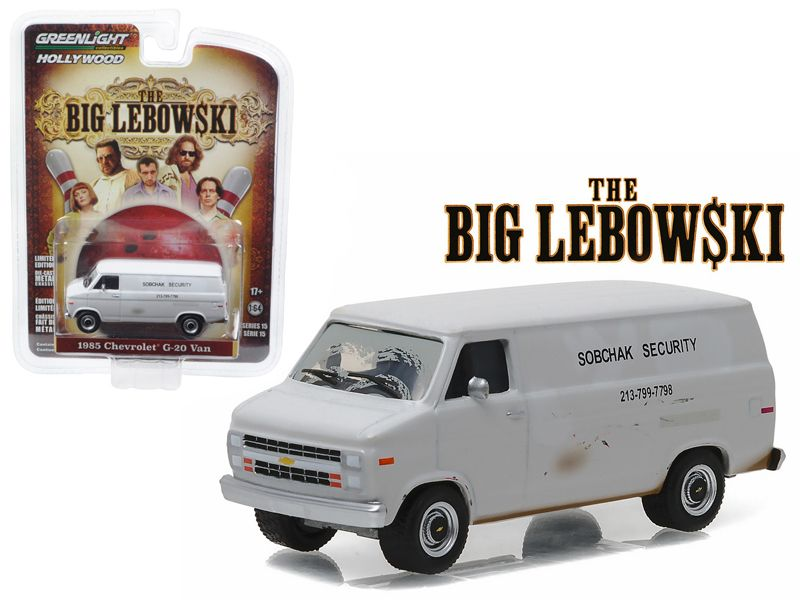 1985 chevrolet g20 van sobchax security the big lebowski 1998 1 1985 chevrolet g20 van sobchax security the big lebowski 1998 164 diecast model car by greenlight brand new 164 scale car model of 1985 chevrolet aloadofball Choice Image