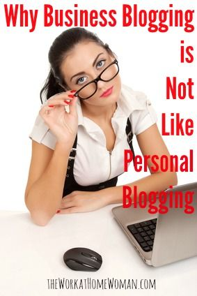 """The thing is, though personal blogging and business blogging share the term """"blogging,"""" there's not a whole lot of similarity between the two. Let's take a closer look on why blogging for your business is important and how your approach to it should differ from personal blogging. 