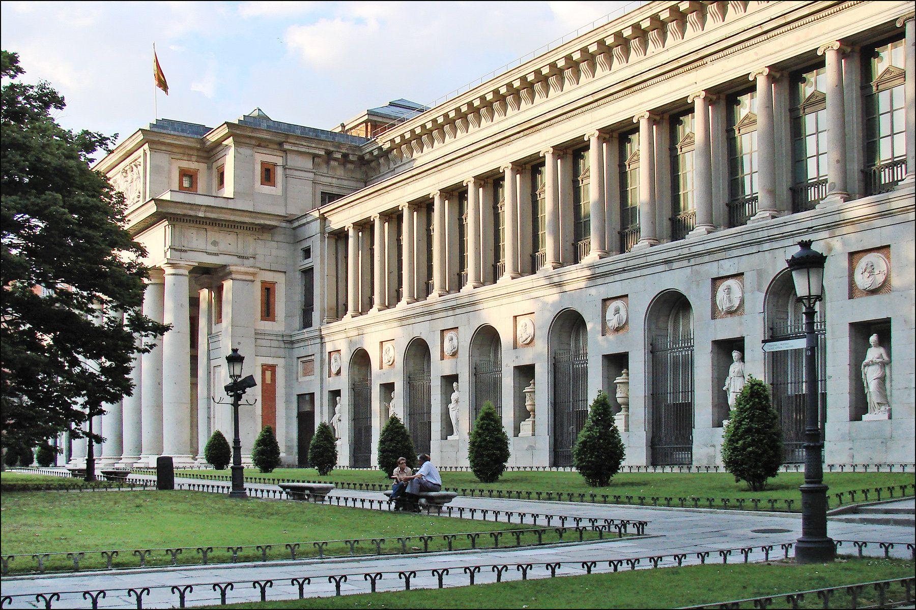 Museo Del Prado Madrid Spain Travel
