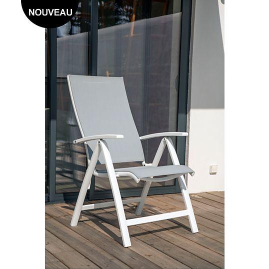 Lot de 2 fauteuils Elégance multipositions OCEO, Chaises de