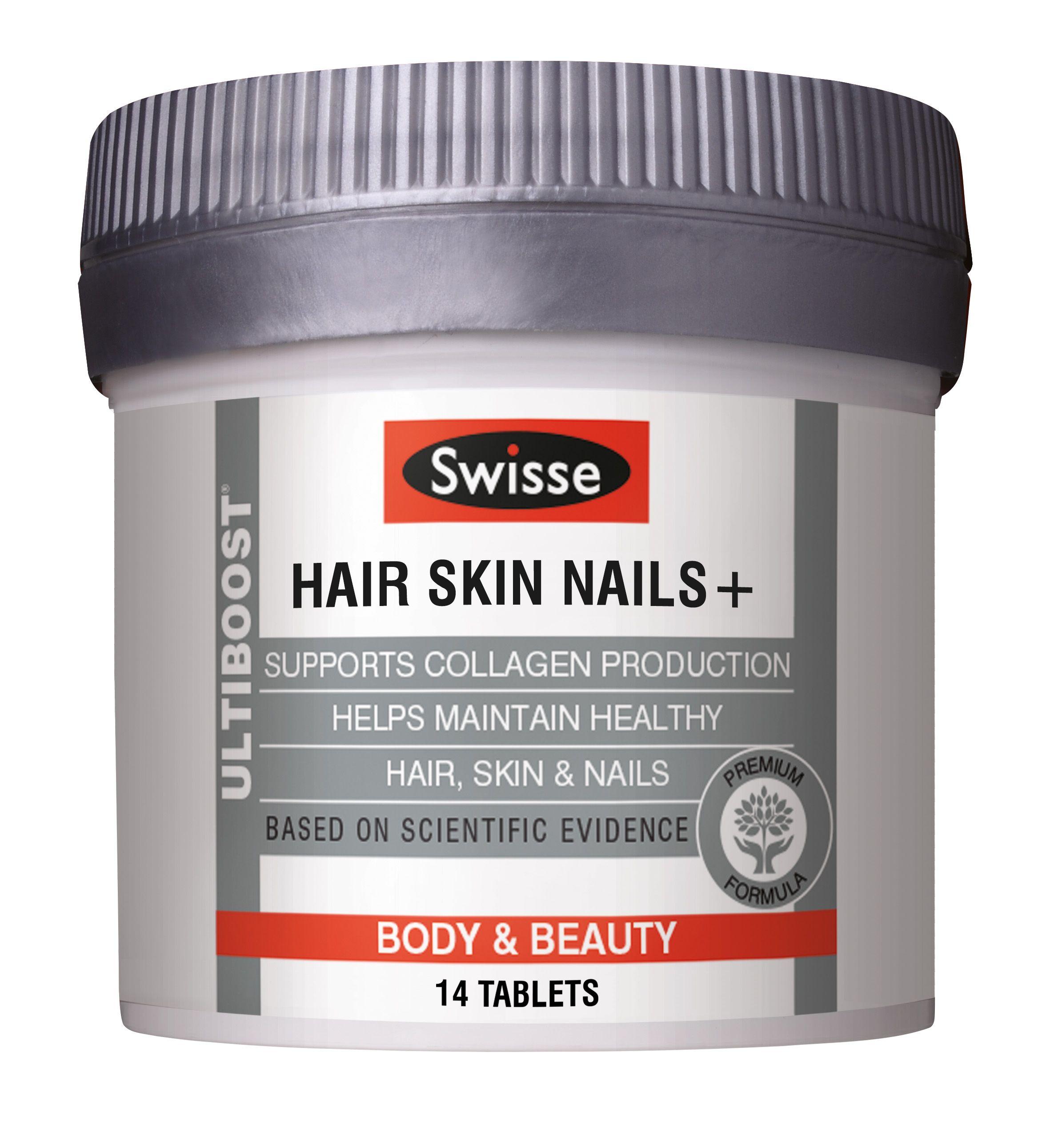 Swisse Ultiboost Hair Skin Nails Tablets Redmart With Images