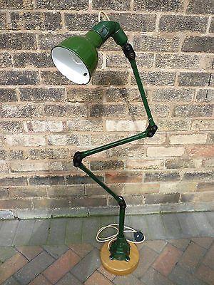 MEK ELEK Industrial Machine Lamp Vintage 1940\'s Floor Standing ...