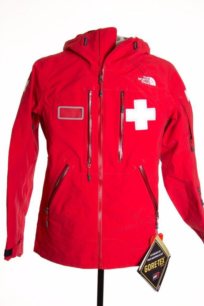 North Face Powder Patrol Ski Womens M Red Gore Tex Waterproof Coat Jacket 649 Thenorthface