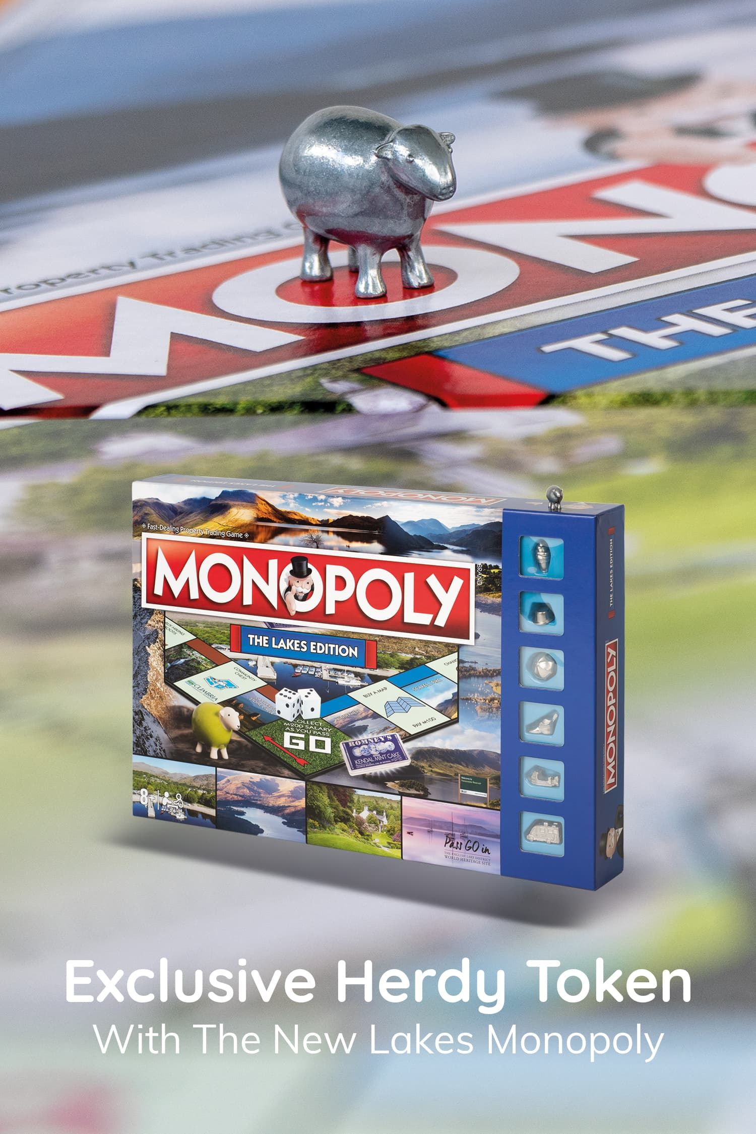 Monopoly Lakes Edition in 2020 Monopoly, Lake, Edition
