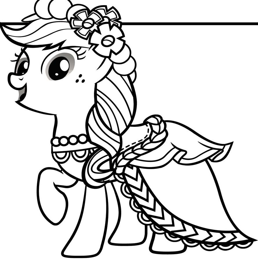 Princess Disegni Da Colorare My Little Pony.Guarda Tutti I Disegni Da Colorare Di My Little Pony Www