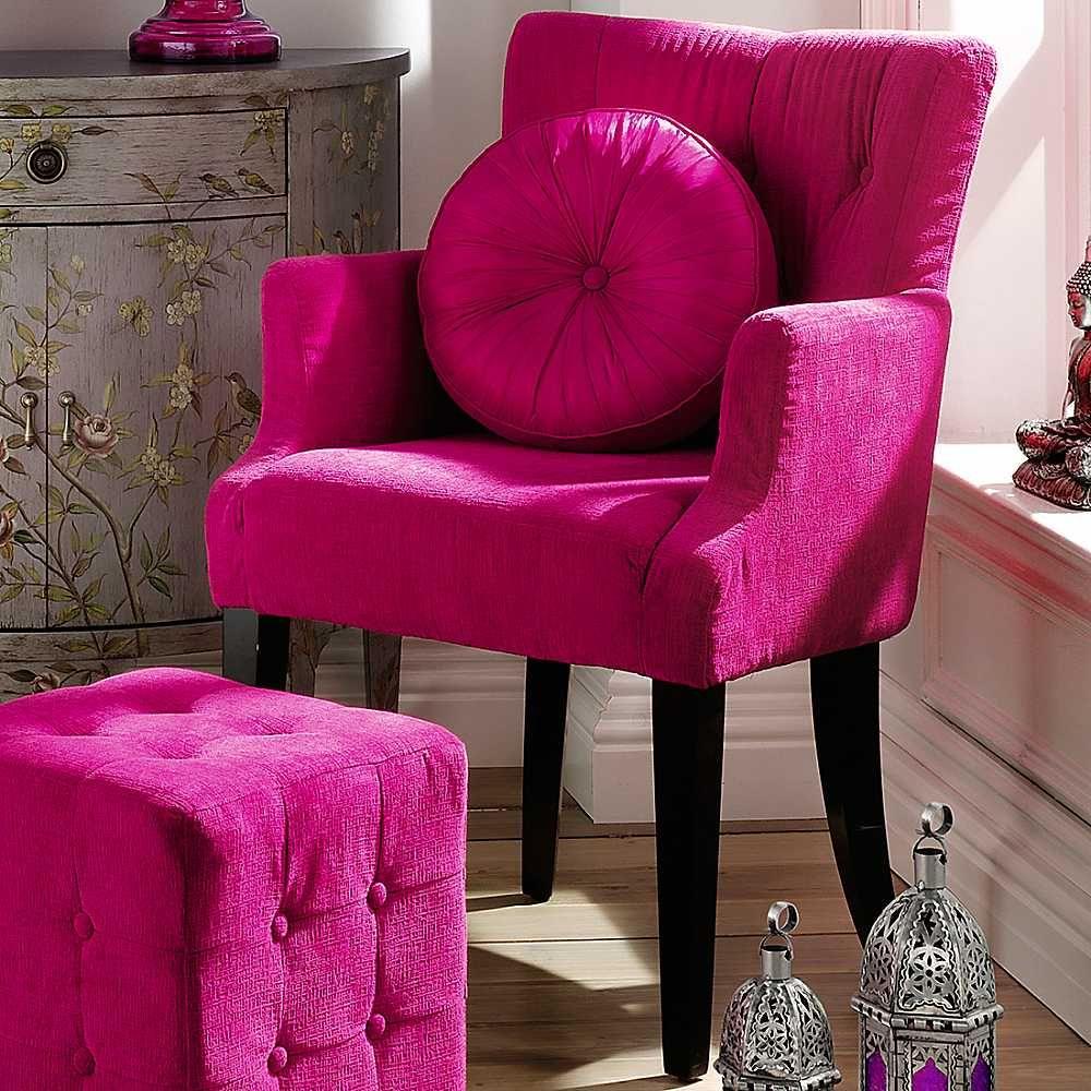Superior Vogue Fuchsia Chenille Chair 1,000×1,000 Pixels