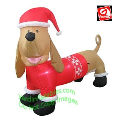 Dachshund Wiener Dog Wearing Red Christmas Sweater | Doxie Love ...