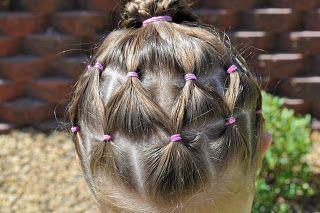 Princess Piggies Netting Competition Hair Hair Styles Gymnastics Hair