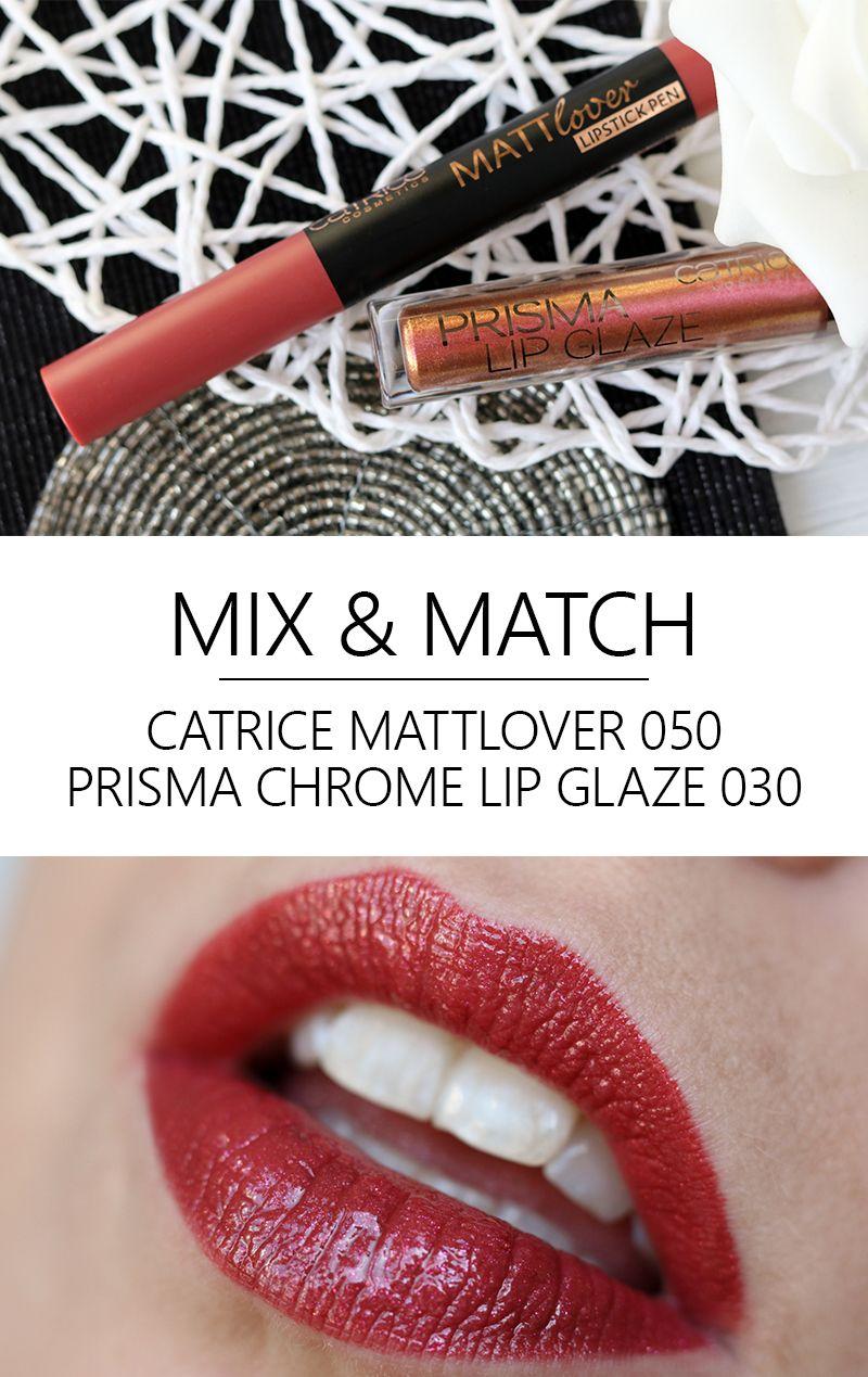 Catrice Mattlover Lippenstift & Prisma Lip Glaze | Glaze, Lip ...