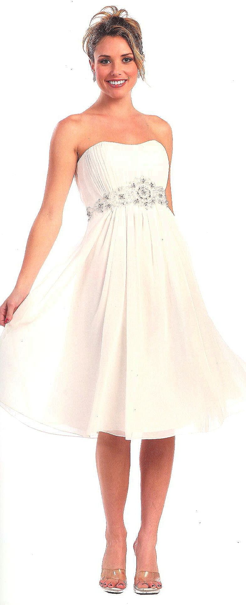 Bridesmaid Dress under $8090085Bridal Perfect!(Sizes to 4XL in 13 colors - see Style 90075 for Long))