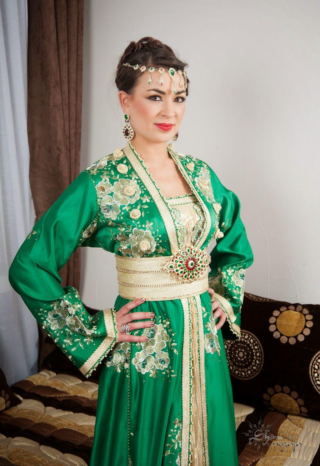 Nouveau caftan haute couture marocain 2019 belles images
