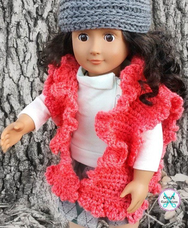 Crochet Pattern - My Dolly Ruffled Ruana crochet pattern 18\
