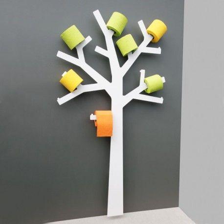 Arbre à Papier Wc Blanc Par Presse Citron Un Porte Papier Toilette