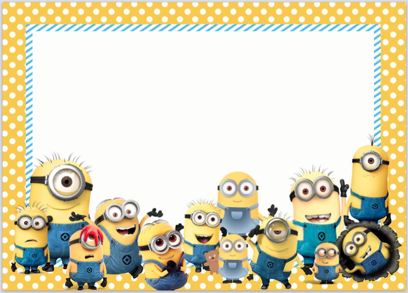 Minions Movies Parties And More Talk Of The Trains Minion Birthday Card Minion Invitation Minion Birthday Invitations