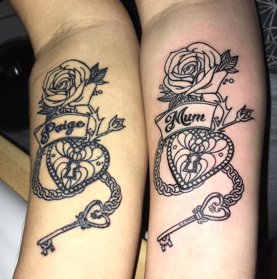 Awesome Mother Daughter Tattoo Designs