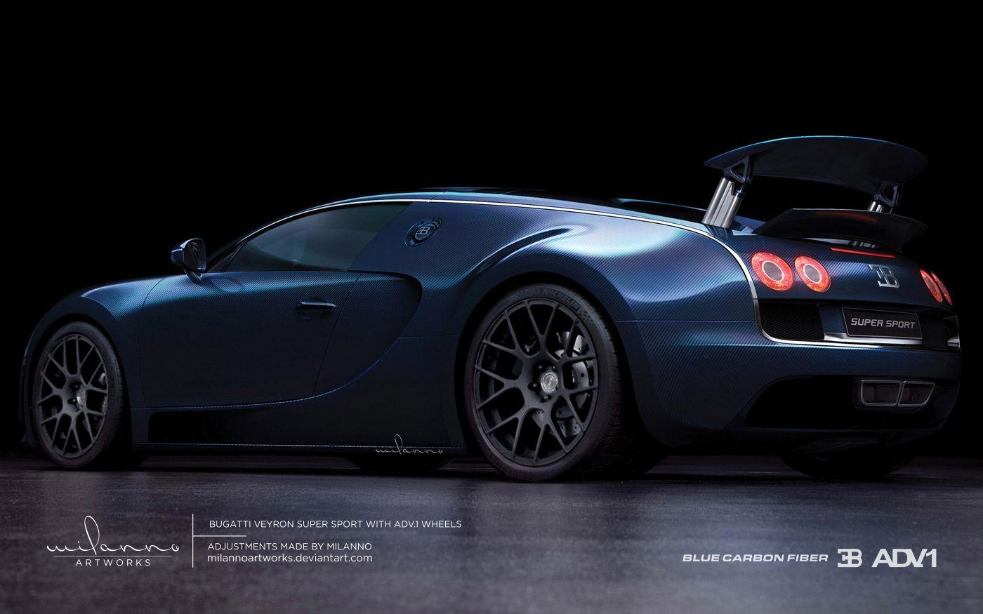 Bugatti Motorcycle Bugatti Veyron Super Sport With Adv 1 Wheels