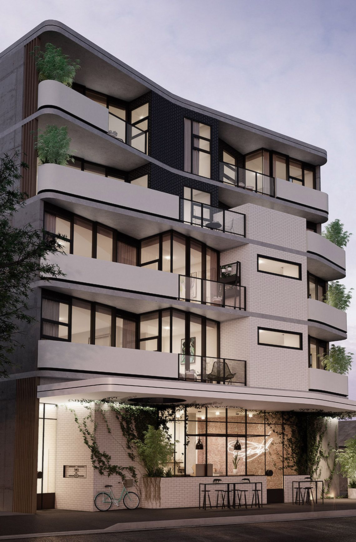 Kestie Lane Studio Morton Avenue Inzynier Pinterest Architecture Building I Facade