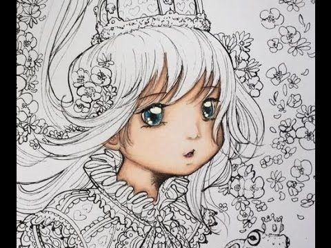 Camilla d\'Errico - POP Manga Coloring Book - The Ghost with ...