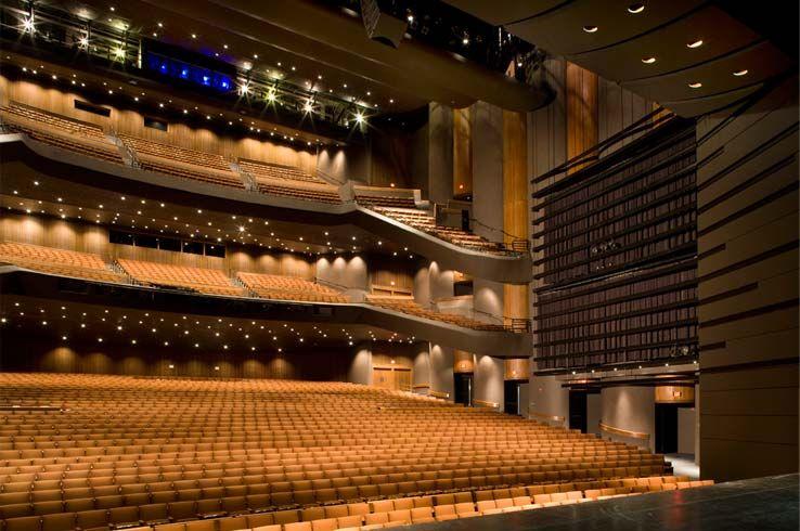 Ut Austin Bass Concert Hall Concert Hall Seating Charts Hall