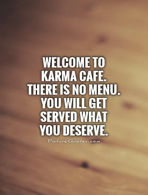 Welcome To Karma Cafe There Is No Menu You Will Get Served What