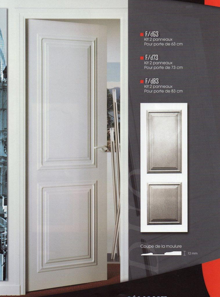 Habillage de portes decoration de porte porte moderne portes pinterest habillage porte - Decoration porte de chambre ...