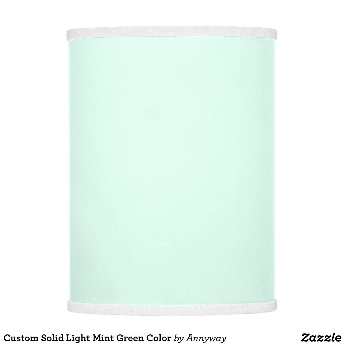 Light Mint Green Color Lamp Shade
