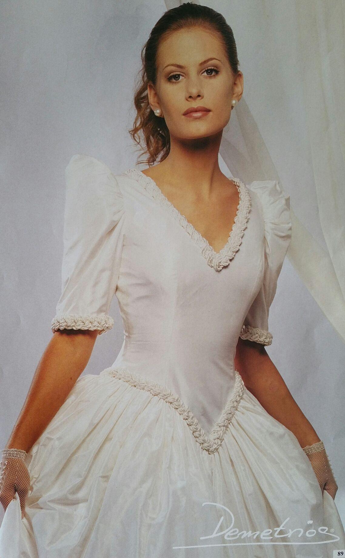 Demetrios pure silk gown demetrios pinterest wedding